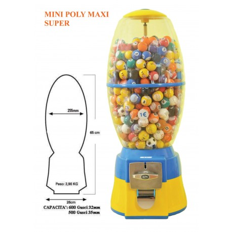 Mini Poly Maxi Super